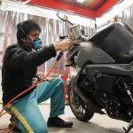 BMWK1300R CR-1バイクコーティング