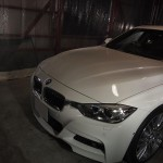 BMW320d クォーツガラスコーティング新車直納