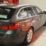BMW3リーズにガラスコーティングとフィルムセットのご紹介