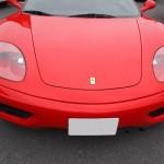 埼玉県からご来店のフェラーリにヘッドライトコートを施工させていただきました。