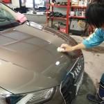 千葉県からご来店のアウディA3にIICプレミアムコ―トを施工させていただきました。