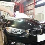 BMW4シリーズ/クォーツガラスコーティングを施工させていただきました。