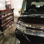 エシュロンコーティングを御指名でタントカスタムにお乗りのY様が千葉県よりご来店されました。