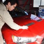 埼玉県よりご来店のランサーエボリューションにエシュロンNANO-FILプレミアムフルコースを施工させて頂きました。