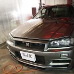 埼玉県よりご来店いただきました日産GTRにCeramicPro9H2層を追加でご依頼いただきました。