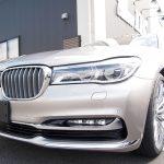東京都からお越しの新車BMW740Liにセラミックプロ9Hを4層コーティング施工させていただきました。
