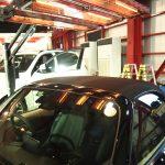 千葉県からお越しの新車マツダロードスターに幌コーティングを施工させていただきました。