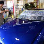 埼玉県からお越しの日産シルビアに親水性のカーコーティング『セラミックシールド』を施工させていただきました。