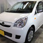 埼玉県からお越しの新車ダイハツミラに滑水性のカーコーティング『エシュロンナノフィル』を施工させていただきました。