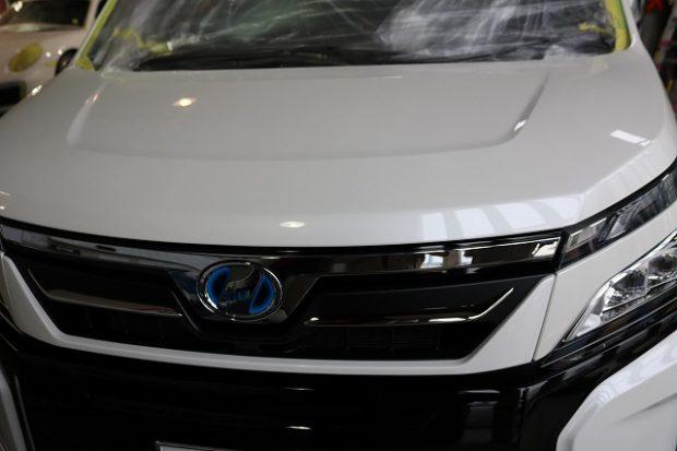 千葉県からご来店のトヨタ・VOXY(ボクシー)にガラスコーティング施工させていただきました