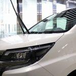 千葉県からご来店の白色トヨタ・ノアにガラスコーティング施工をさせていただきました