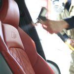 シートが痛む前にアウディS5にレザーシートコーティングで摩耗や摩擦からシートを保護