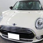 千葉県浦安市からお越しの新車BMWミニクラブマンに親水性のカーコーティング『セラミックシールド』1層コートとオプションコートを施工させていただきました。