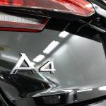アウディA4アバントに脅威のセラミックカーコーティングを施工。当店でのコーティング施工2回目のオーナー様です。