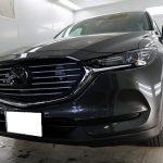 千葉県成田市からお越しの新車マツダCX-8に親水性のカーコーティング『セラミックシールド』1層コートを施工させていただきました。