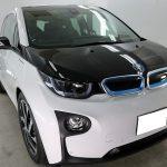 千葉県千葉市からお越しの新車BMWi3に親水性のカーコーティング『セラミックシールド』1層コートを施工させていただきました。