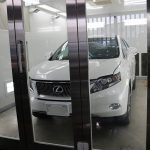 千葉県八千代市からお越しのレクサスRX450hに親水性のカーコーティング『クォーツガラスコート』をプレミアムフルコースで施工させていただきました。