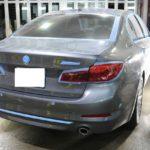 BMW5シリーズでお越しのA様、セラミックプロ9Hフルコース今回は研磨工程をさせて頂いております!