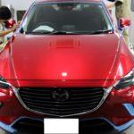 千葉県船橋市よりお越しのS様の新車マツダCX3に最高コーティング!セラミックシールドの施工を致しました!