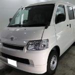 千葉県市川市からお越しの新車トヨタライトエースにグレアハイドロコートを施工させていただきました。