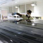 トヨタアルファードに親水性ガラスコーティングの定番クォーツガラスコーティングの施工を致しました!東京都台東区よりお越しのO様ありがとうございます。