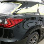 新車レクサスRX450hが入庫です!一番人気コーティングのセラミックプロ9Hの施工です!東京都品川区よりI様ありがとうございます。