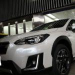 スバルXVにガラスコーティングの進化版セラミックコーティングを施工!千葉県浦安市より新車でご入庫されました!