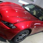 神奈川県横須賀市より新車マツダロードスターが入庫です♪セラミックコーティングで承りました。