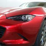 マツダ・ロードスターが神奈川県横浜市より新車でご入庫され、鏡面光沢が続くセラミックコーティングを施工させて頂きました!