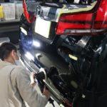 新車トヨタアルファードに撥水コーティング人気No.1セラミックプロ9Hのプレミアムフルコースの施工です!千葉県流山市よりM様ありがとうございます。