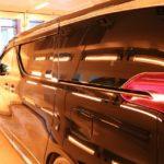 イタリア製レボアップ!遠赤外線装置導入!新車トヨタアルファードにセラミックコーティング施工後の様子です!千葉県流山市よりM様ありがとうございます。