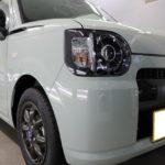 千葉県松戸市からお越しの新車ダイハツミラトコットに驚異のコーティング被膜硬度9Hの『セラミックプロ9H』を5層コート施工させていただきました。