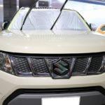 東京都江戸川区からお越しの新車スズキエスクードに親水性のカーコーティング『クォーツガラスコート』を施工させていただきました。