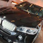 BMWX5が東京都江戸川区よりご入庫され、セルフクリーニング効果に優れたコーティングを施工させて頂きました!