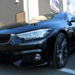 東京都葛飾区よりお越しの新車BMW440iグランクーペにセラミックプロ9H2層コーティングとオプションコーティングを施工させていただきました。