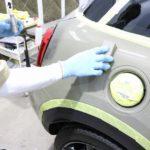 新車BMWミニに奇跡の自己修復コーティングファインラボヒールライトの施工を致しました。千葉県市川市よりS様ありがとうございます。
