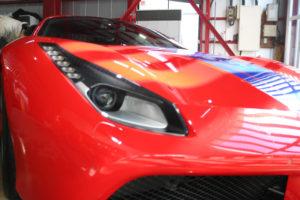 フェラーリ430 ガラスコーティング