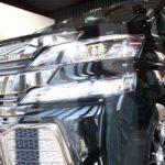 トヨタ・ヴェルファイアが千葉県習志野市よりご入庫され、セルフクリーニング効果に優れたガラスコーティング施工させて頂きました!