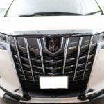 千葉県君津市よりお越しの新車トヨタアルファードTRDに驚異の被膜硬度セラミックプロ9H5層コート他オプション多数施工させていただきました。