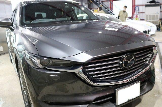 マツダ ガラスコーティング CX-8