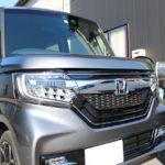 埼玉県春日部市の新車ホンダN-BOXに超親水性ガラスコーティングを施工させて頂きました!