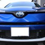 富山県富山市の新車トヨタC-HRに自己修復性能で小傷が消えるガラスコーティングを施工させて頂きました!