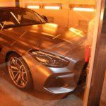 新車BMWZ4!に人気ナンバーワン商品セラミックコーティングの施工!東京都品川区よりお越しのI様ありがとうございます。あわせてオプションでバリアタフコート、幌コーティングも施工となりました。