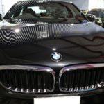 千葉県市川市からお越しの新車BMW540iに親水性の『セラミックシールド』5層コートを施工しました。