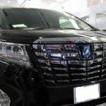 トヨタ・アルファードが東京都品川区よりご入庫され、自己修復性コーティングを施工させて頂きました!