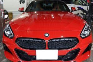 BMWZ4幌コーティング