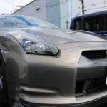 東京都浦安市より35GTRが入庫しました!濡れたような艶感のボディコーティングを施工!