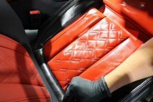 新車BMWアルピナレザーコーティング