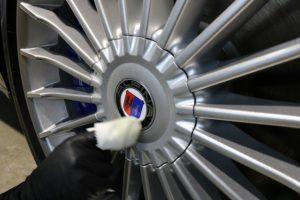 BMWアルピナにセラミックコーティングとバリアタフコート