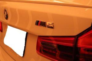 新車BMWM5にセラミックコーティング